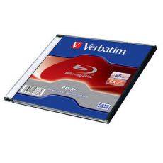 Диск BD-RE Verbatim 25Gb 2x Jewel case (1шт) (43768)