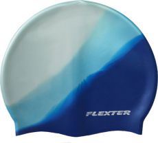 Шапочка для плавания Flexter FLMC404 White blue